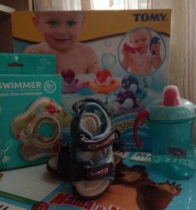 Детские вещи и игрушки пакетом
