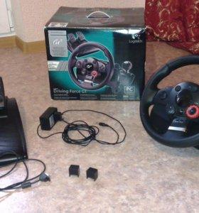 Игровой руль + педали Logitech Driving Force GT