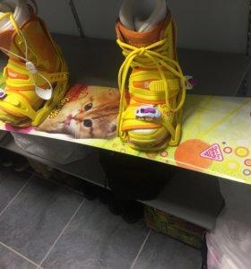 Детский комплект для сноуборда