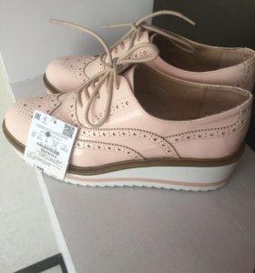 Ботинки новые бершка