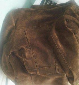 Замшевая куртка neohit