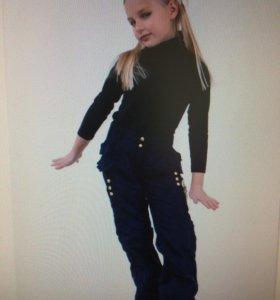 Новые 🚩гламурные брюки на осень дев. р 122-60
