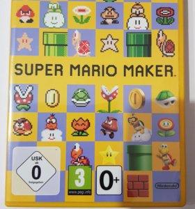 Wii u. Super Mario Maker и артбук.