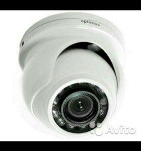 Купольная цветная камера Optimus IVD-736 Mini