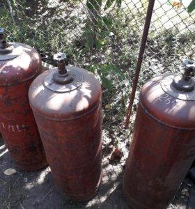 Газовые баллоны(пропан)
