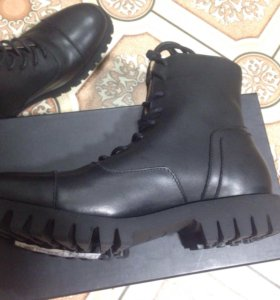 Кожаные ботинки selected homme!