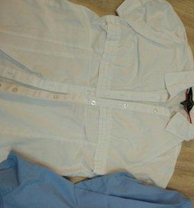Блузка и 2 рубашки. Цена за все.