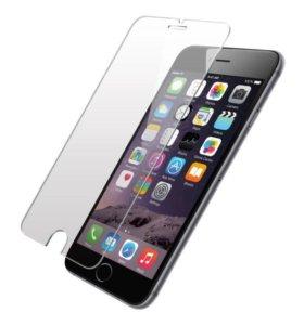 Защитные стекла и чехлы на iPhone