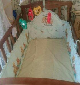 Кроватка весь набор