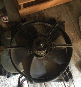Вентилятор радиатора хендай акцент