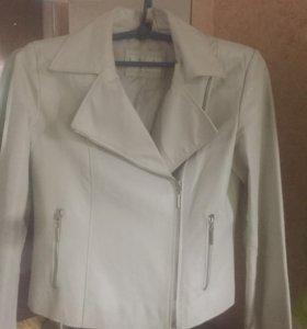 Кожаная куртка-косуха,44размер