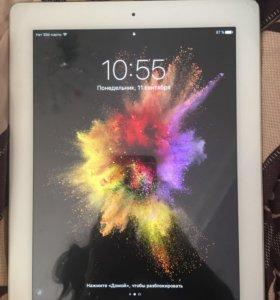 iPad 4Объем памяти 16 гб. с сим картой 3G