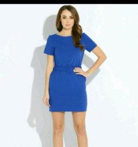 Платье синее Инсити