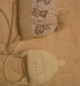 Зимнии шапки для мальчика