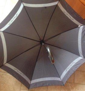 🔴 зонт трость новый