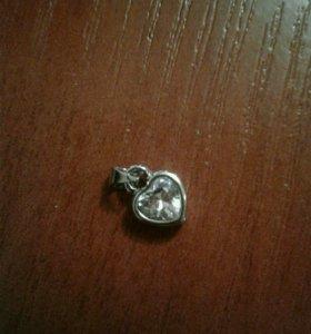 Подвески серебряные новые по 500рублей