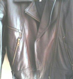 Натуральная кожанная куртка СРОЧНО