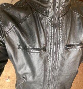 Кожаная куртка за 500