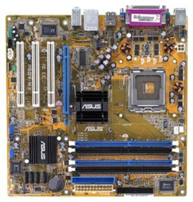 ASUS P5GV-MX + celeron D341 (2.93 GHZ)+2 GB памяти