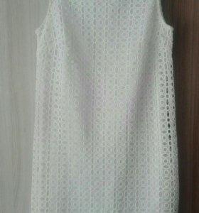 Кружевное платье 42 р-р