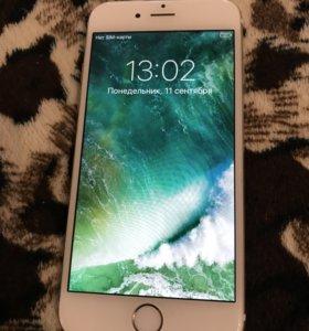 Срочно продам IPhone 6,16g золото