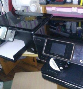 Два принтера мфу hp fotosmart plus