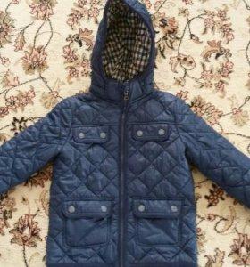 Куртка демисезонная на 3-4года