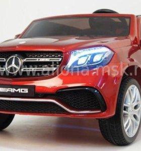 Электромобиль Mercedes Benz GLS63 4WD 2-х местный