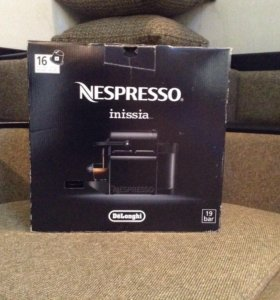 Кофемашина Nespresso капсульная.
