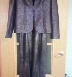 Вечернее платье с пиджаком