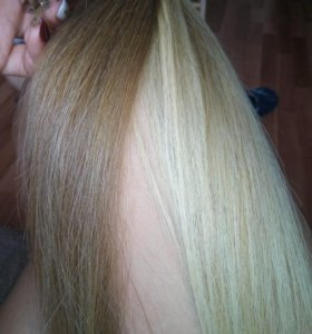 Волосы славянка закапсулированные