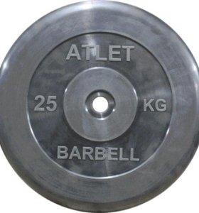 Диски (блины) для штанги Barbell