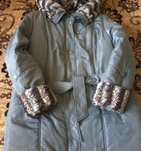 Зимняя куртка 56-58 р-р.