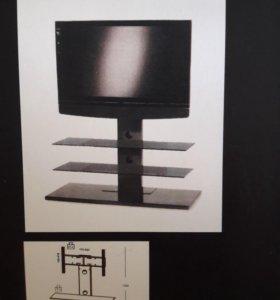 Кронштейн для телевизора с полками