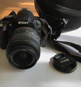 Профессиональный фотоаппарат Nikon D3100