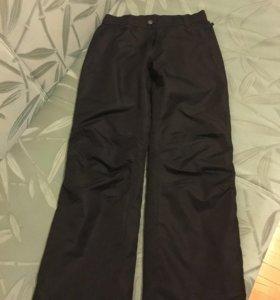 Джинсы вельветовые + утеплённые штаны на флисе.