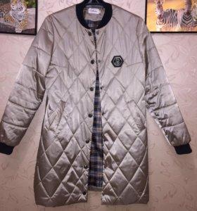 Пальто на тонком синтепон