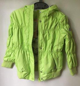 Куртка демисезонная утепленная новая