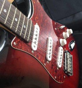 Гитара fender squier standard stratocaster