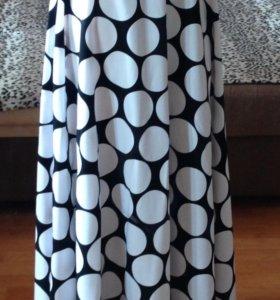 Дизайнерская юбка в пол