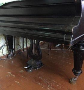 Рояль салонный чёрный