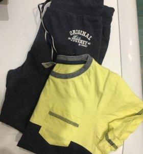 Комплект: футболка+брюки 122