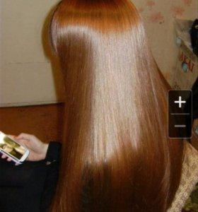 Шелковое обертывание волос!!!
