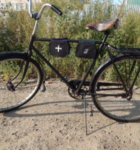 Продаётся велосипед с раздвижным прицепом!