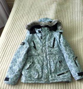 Куртка зимняя + шапка