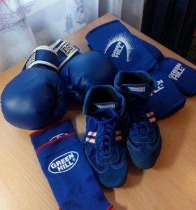 боксёрские перчатки, защита