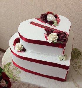 Свадебные украшения, свадебный декор, сундук