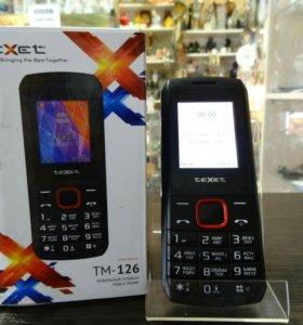 Телефон TeXet TM-126