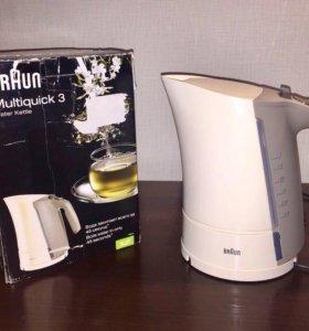 Электрочайник Braun Wk 300 Cream и white Чехия