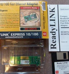 Сетевая карта Compex PCI 10/100mbps RE100TX